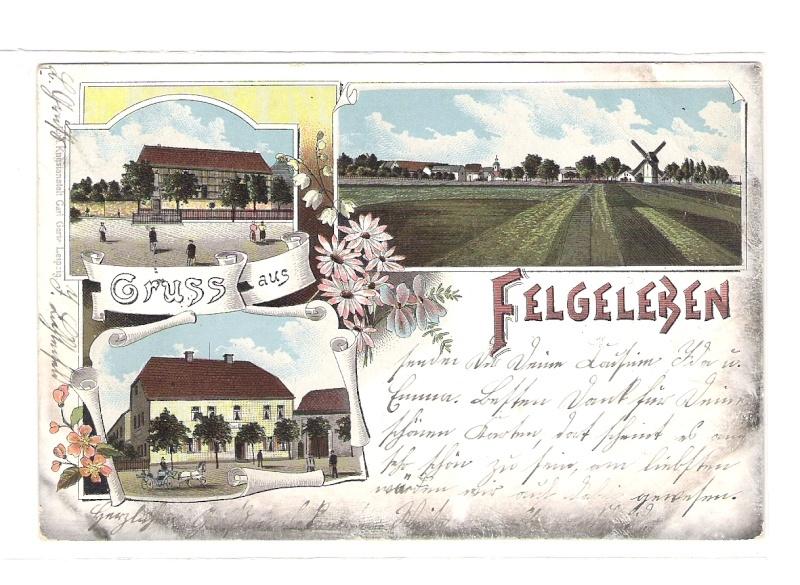 Alte Farbkarten deutscher Städte und Landschaften 711