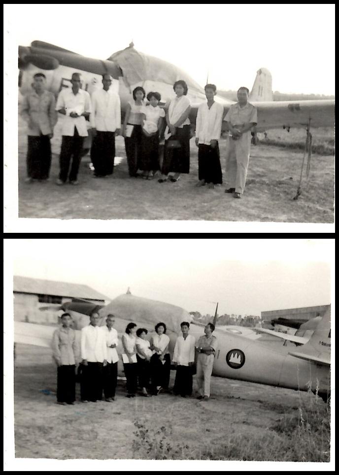 Royaume du Cambodge (1953 - 1970) : Aviation Royale Khmère  12-12388