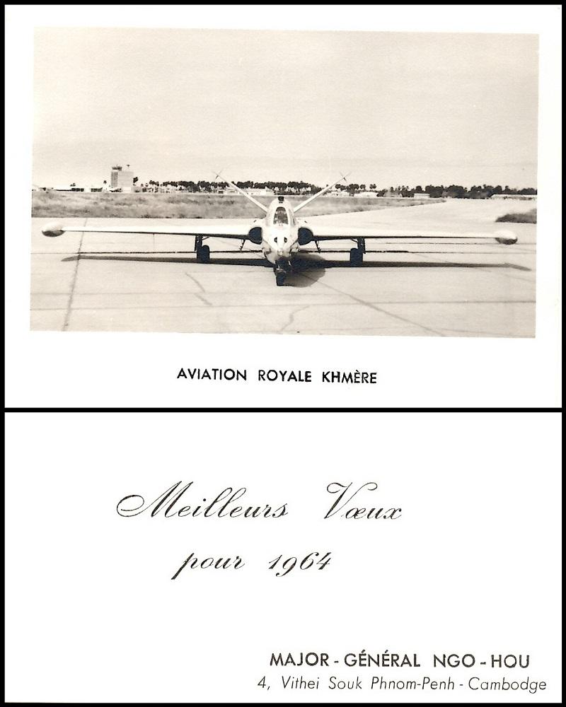 Royaume du Cambodge (1953 - 1970) : Aviation Royale Khmère  12-12390