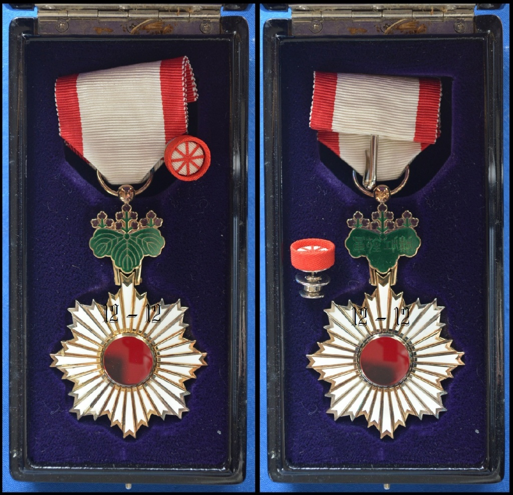 Ordre du soleil Levant 12-12880