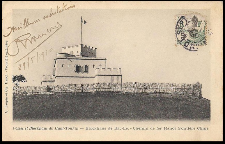 Tonkin : Blockhaus de Bac Le  Bac_le10