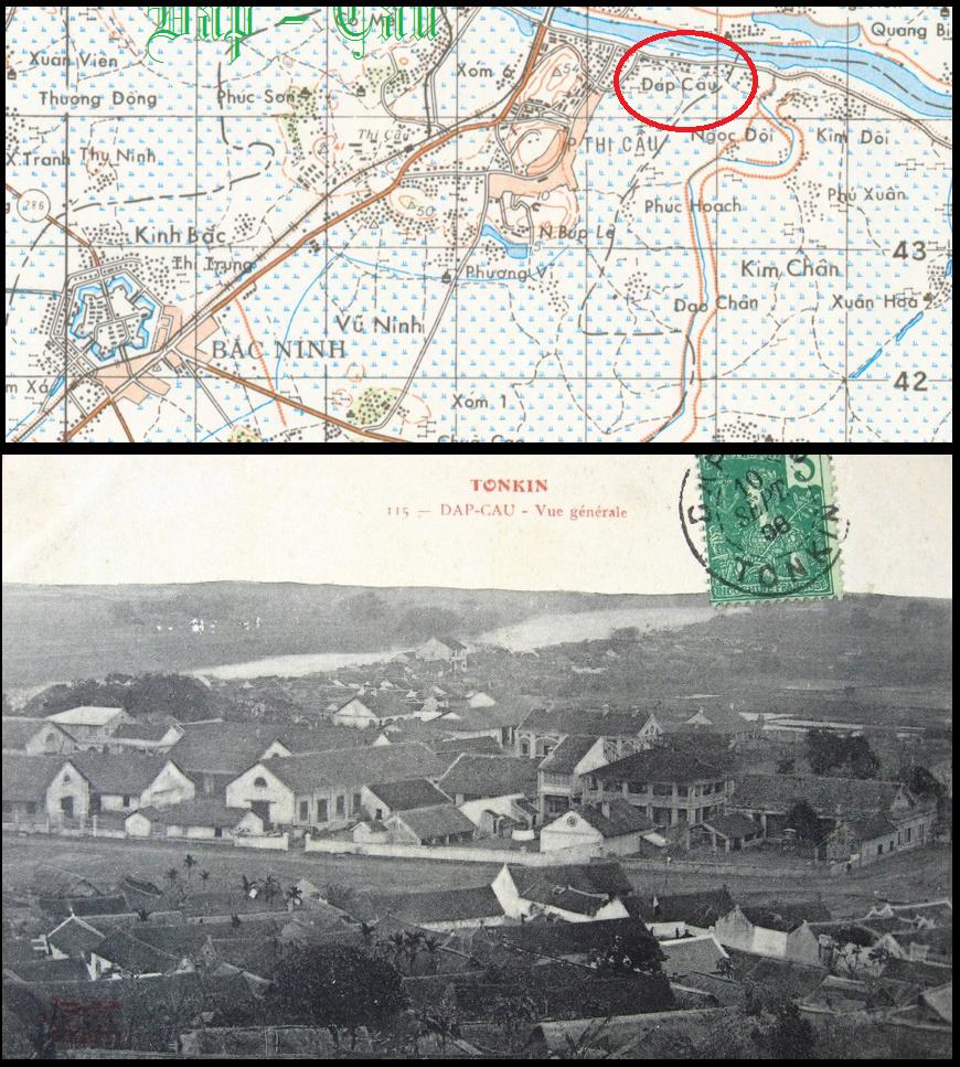 Tonkin Dap Cau Đáp Cầu Caserne de l'Artillerie Coloniale Dap_ca10