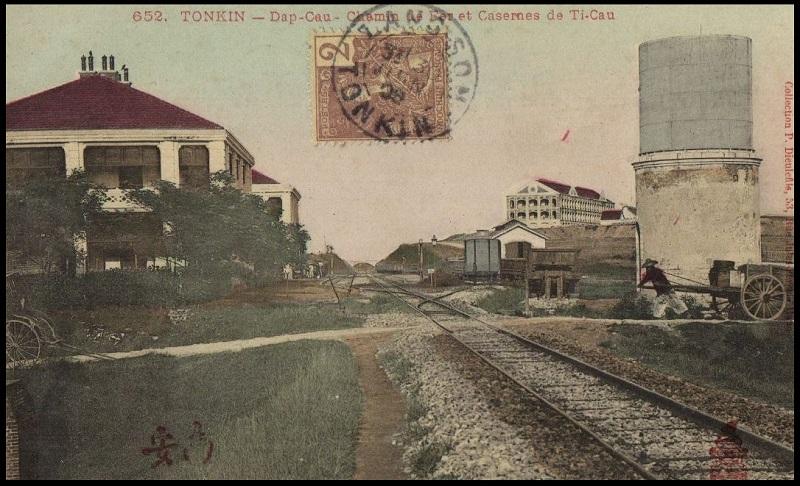 Tonkin Dap Cau Đáp Cầu Caserne de l'Artillerie Coloniale Dap_ca13