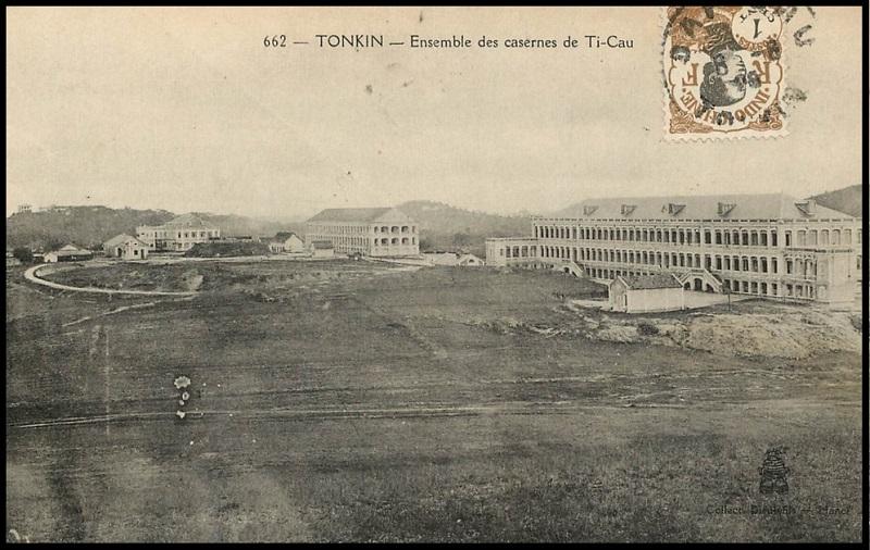 Tonkin Dap Cau Đáp Cầu Caserne de l'Artillerie Coloniale Dap_ca14