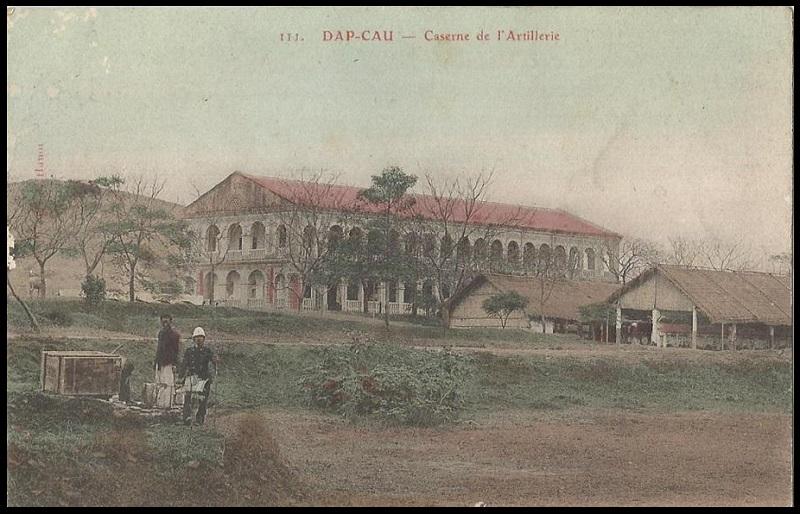 Tonkin Dap Cau Đáp Cầu Caserne de l'Artillerie Coloniale Dap_ca15
