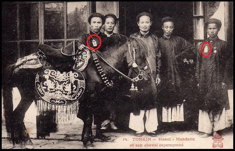 annam : bài ngà 牌牙 d'un officiel du musée d'histoire  Hanozc10