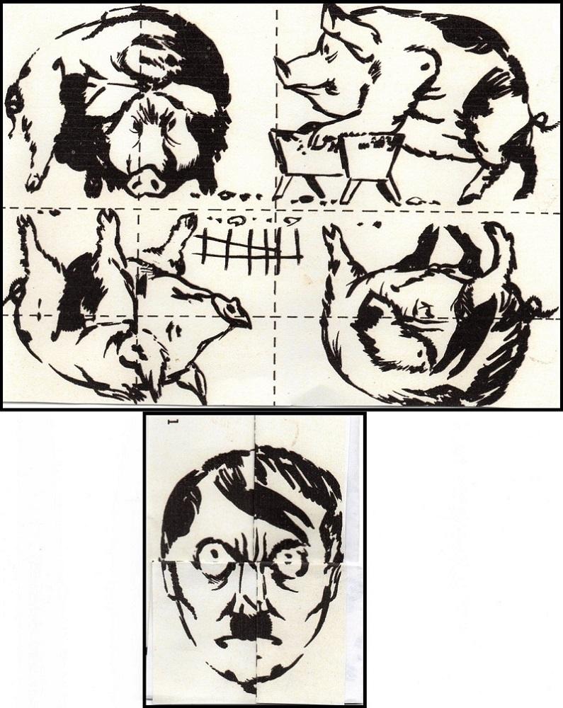 Quatre petits cochons et le grand méchant loup Img04012