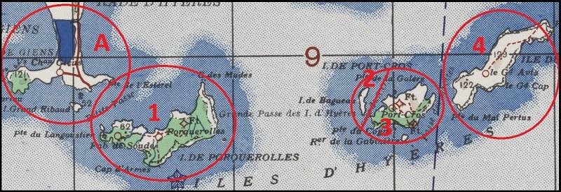 Carte d'îles et insigne Marsei12