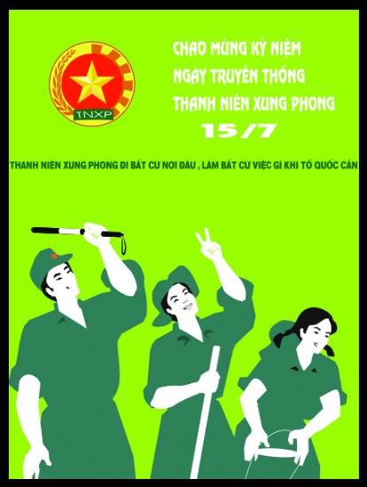 Việt Nam : TNXP / Jeunes volontaires  Thanh_10