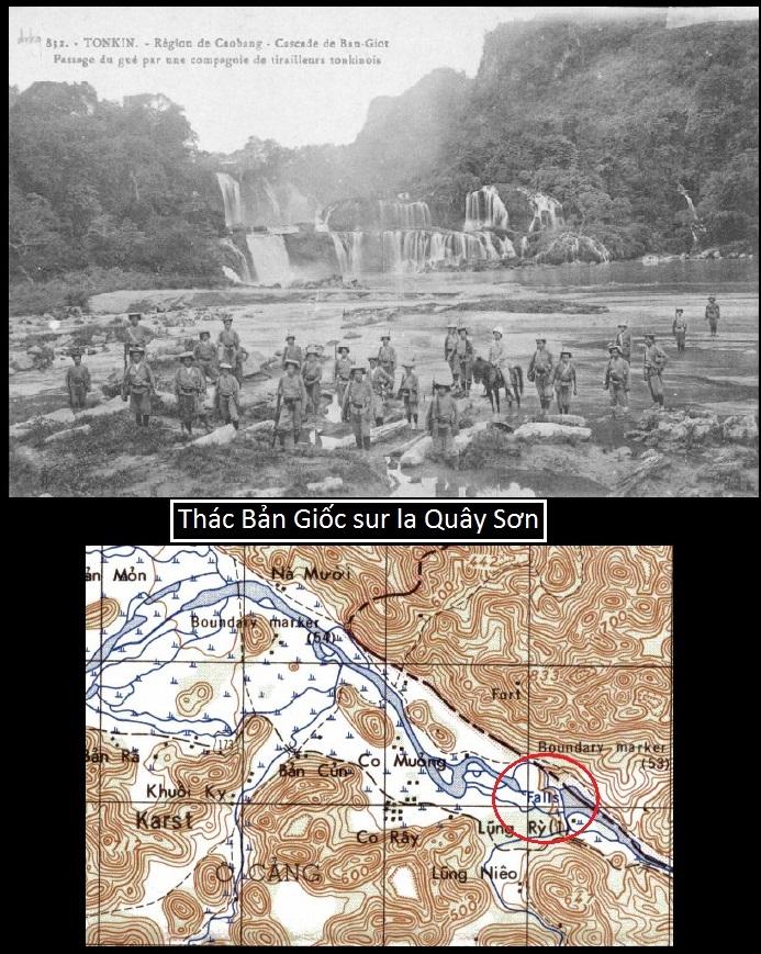Tonkin : Tirailleurs Thác Bản Giốc - Sông Quây Sơn Thzec_10