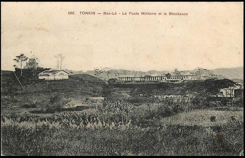 Tonkin : Blockhaus de Bac Le  Tonkin10