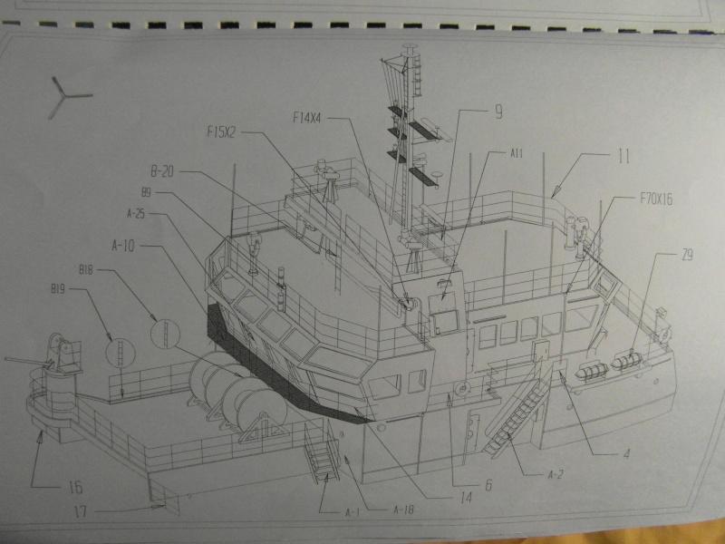 BATEAU  SUPPLY  LE SALVIRILLE échelle 1/75  - Page 3 00116