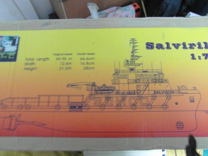 BATEAU  SUPPLY  LE SALVIRILLE échelle 1/75  - Page 3 00216