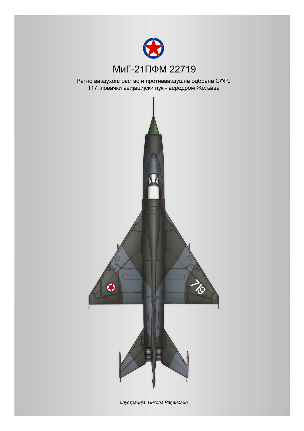 [Fujimi + Balkan Models 1/72] Mig-21 PFM yougoslave Yougos10