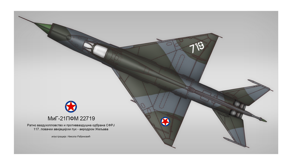[Fujimi + Balkan Models 1/72] Mig-21 PFM yougoslave Yougos11