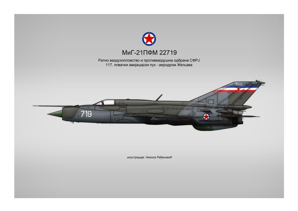 [Fujimi + Balkan Models 1/72] Mig-21 PFM yougoslave Yougos12