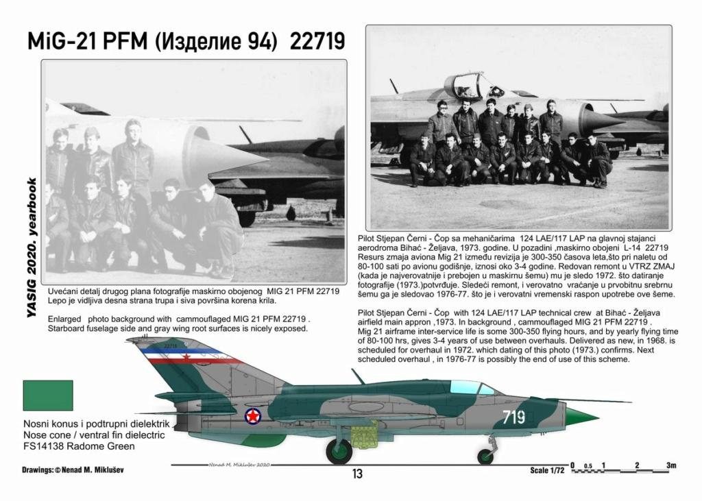 [Fujimi + Balkan Models 1/72] Mig-21 PFM yougoslave Yougos15