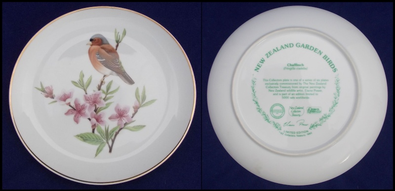 Crown Lynn bird plates Collectors Treasury  Dscn5724
