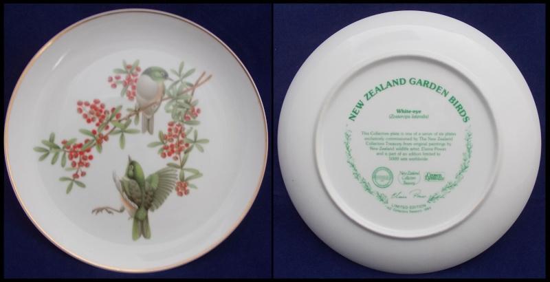Crown Lynn bird plates Collectors Treasury  Dscn5726