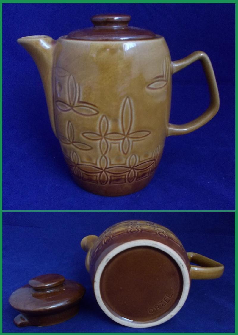 Hobby Ceramics coffee pot: Orzel shape? Plus the Orzel one. Dscn6110