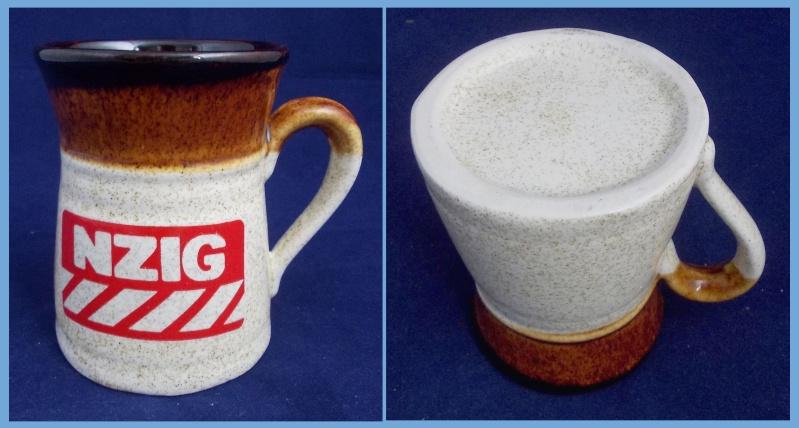 Orzel NZIG advertising mug. Dscn6314