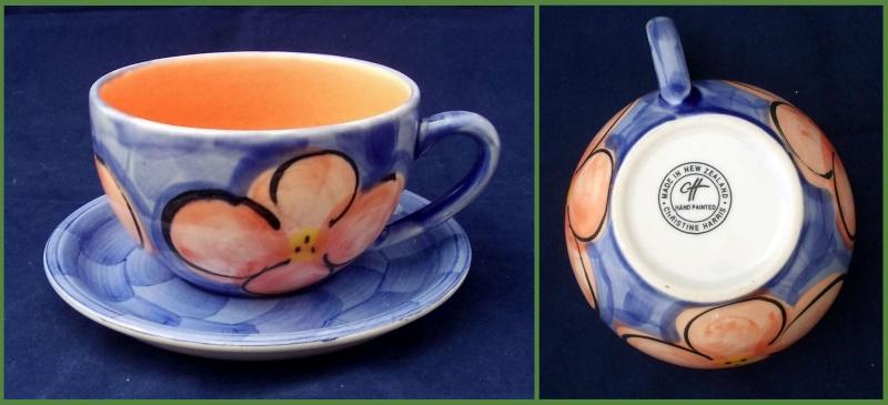 Did Christine Harris make pottery for Stevens Table Fare? Dscn6624