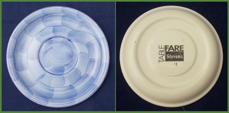 Did Christine Harris make pottery for Stevens Table Fare? Dscn6625