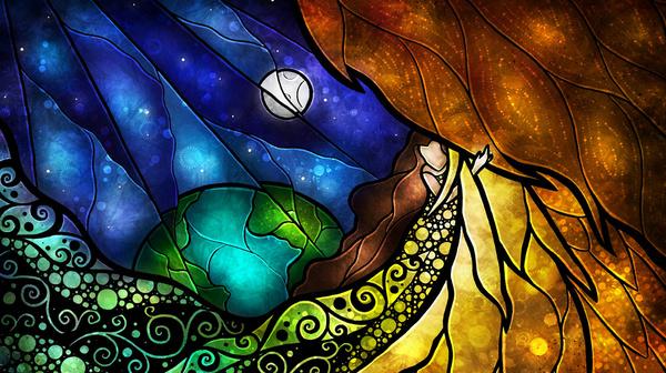 La femme et la Lune ...  - Page 3 Psalm210