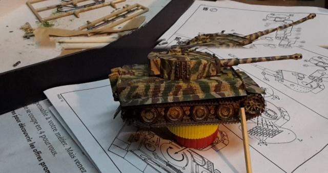 PzKpfw VI  Tigre I Ausf E (1/72 - Revell ) - Page 2 20150110