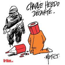 Réactions suite à l'attentat de Charlie-Hebdo.  Charli13