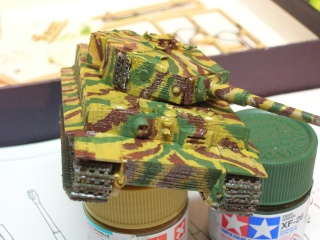 PzKpfw VI  Tigre I Ausf E (1/72 - Revell ) Dscn3420