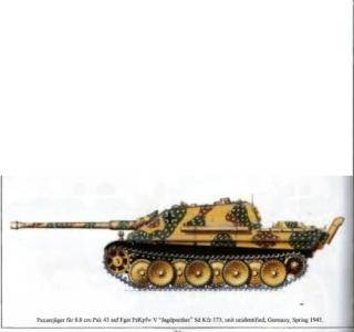 Jagdpanther tamiya 1/35 en cour de restauration Jagdpa13
