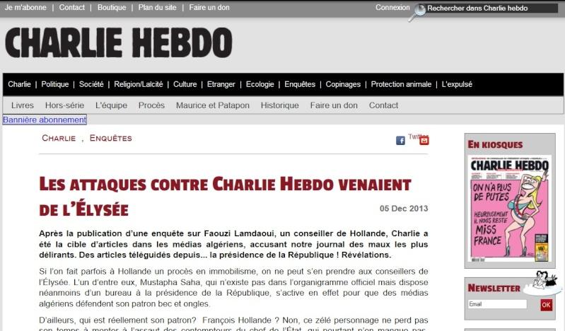 """""""Les attaques contre Charlie Hebdo venaient de l'Élysée"""" (5/12/13) Les_at10"""