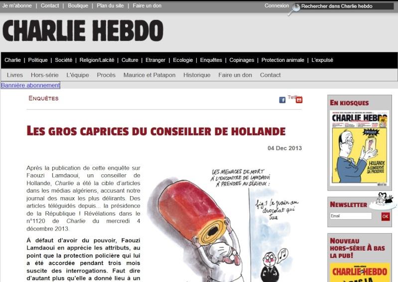 """Les gros caprices du conseiller de Hollande"" (Charlie Hebdo 04/12/13) Les_gr10"