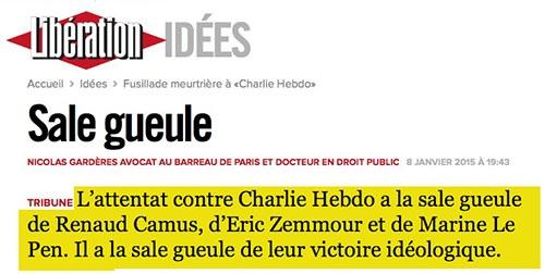 """Popularité : Hollande gagne 21 points au grattage de """"Charlie Hebdo"""" ? La farce continue  Liby_c10"""