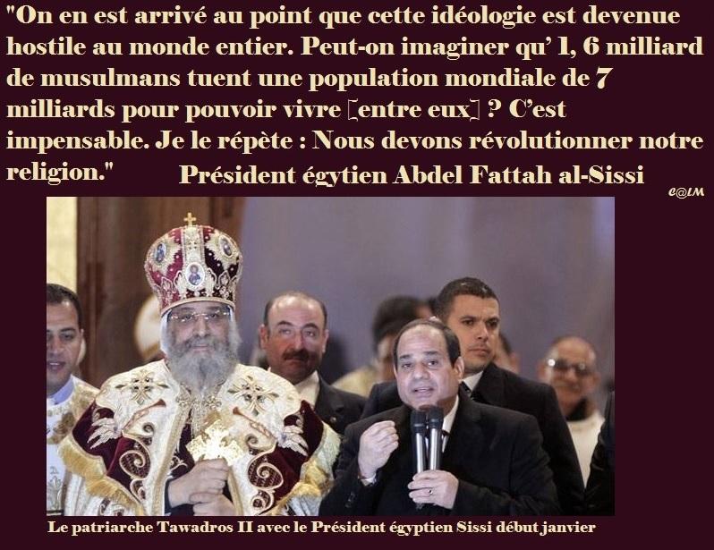 """""""Nous devons révolutionner notre religion."""" du Président égyptien Sissi  Sissi_10"""