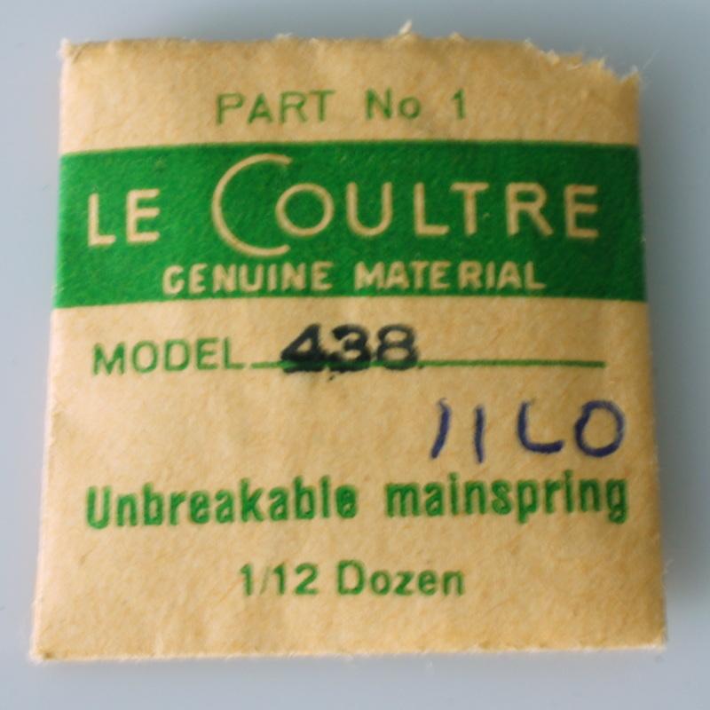 Jaeger Lecoultre uniplan T2ec1610