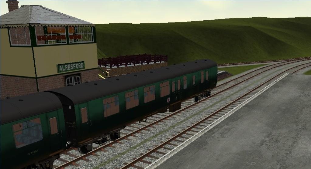 Midhants Railway / Watercressline Route Alresf15