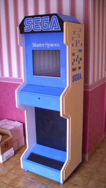 Borne démonstration Master System/ Megadrive Master10