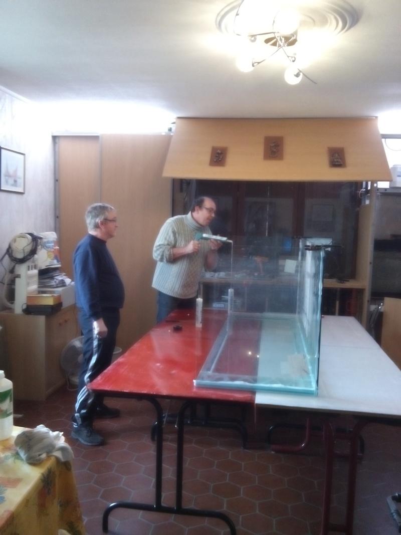 Aquarium de 840 litres recifal, les différentes étapes d'installation Img_2012