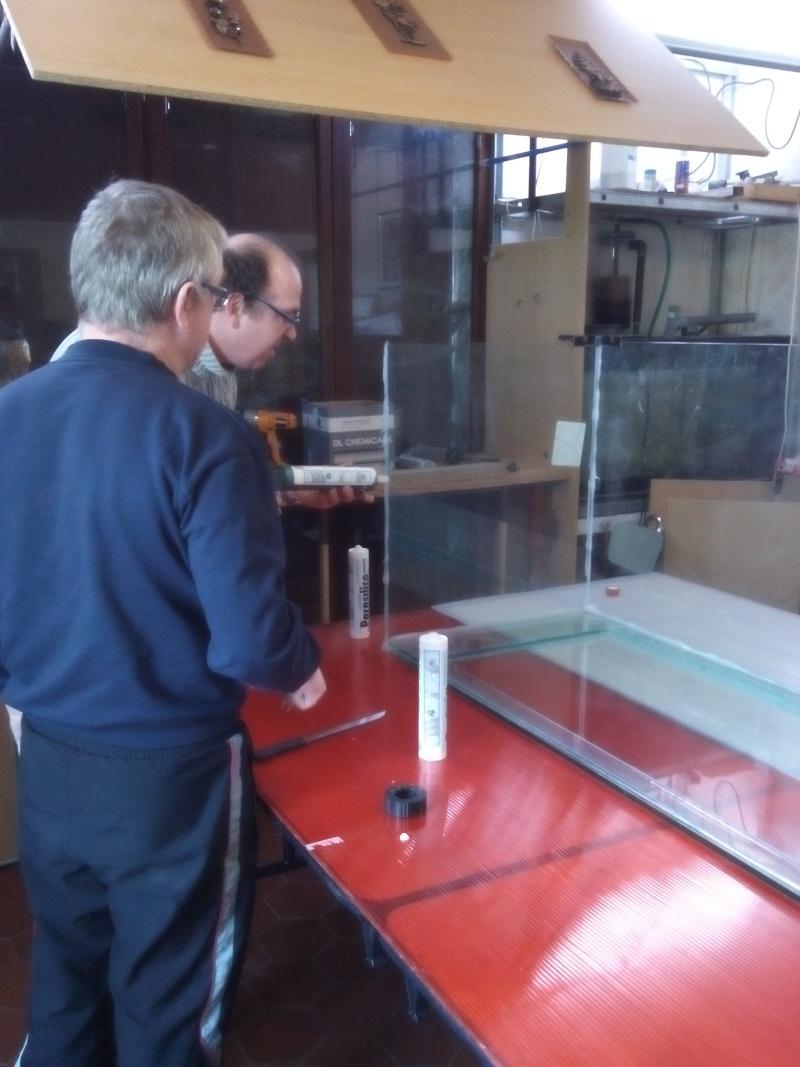 Aquarium de 840 litres recifal, les différentes étapes d'installation Img_2013