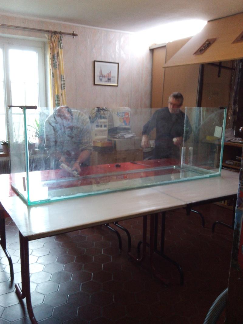 Aquarium de 840 litres recifal, les différentes étapes d'installation Img_2014