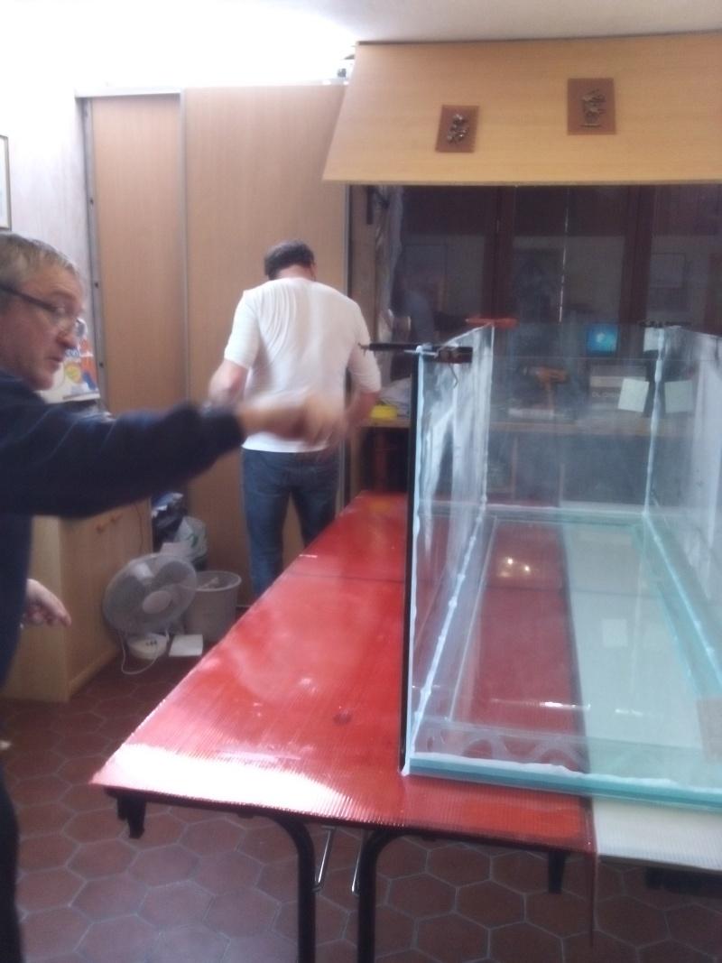 Aquarium de 840 litres recifal, les différentes étapes d'installation Img_2015
