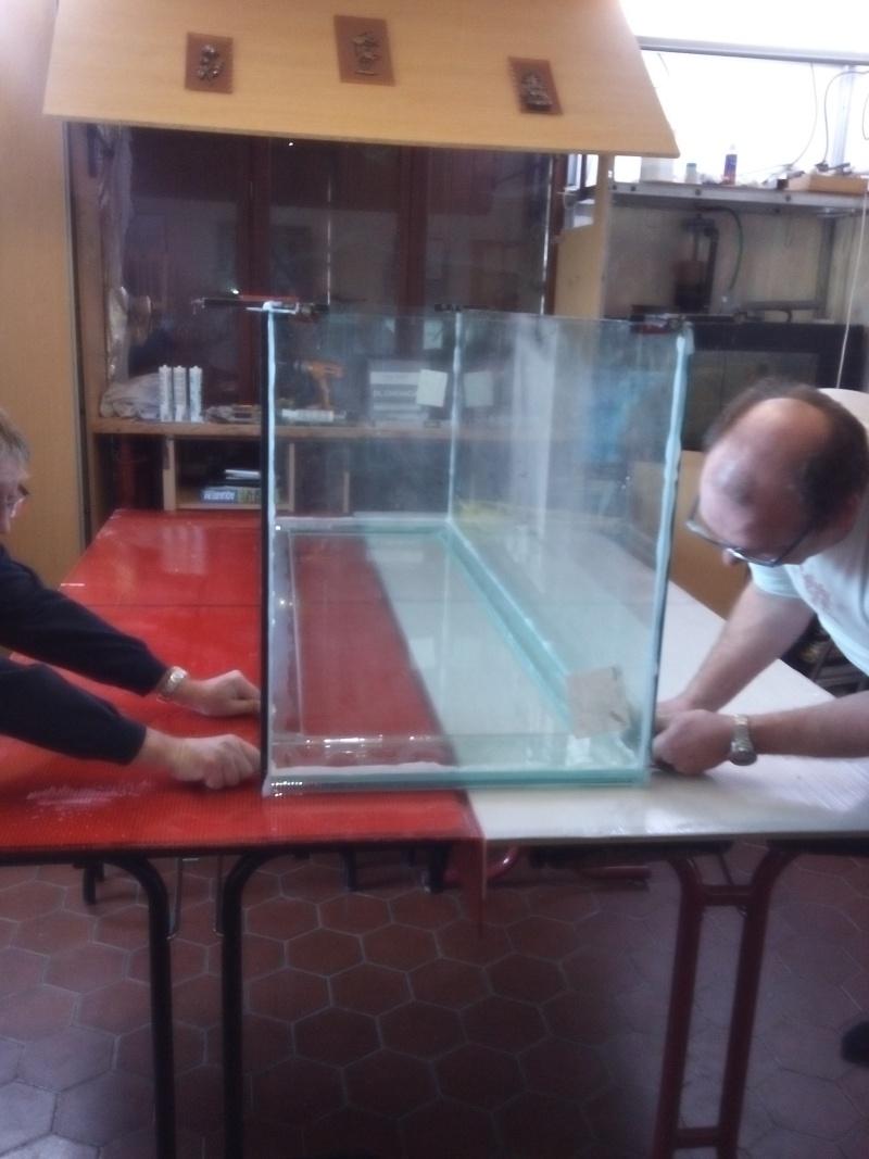 Aquarium de 840 litres recifal, les différentes étapes d'installation Img_2016