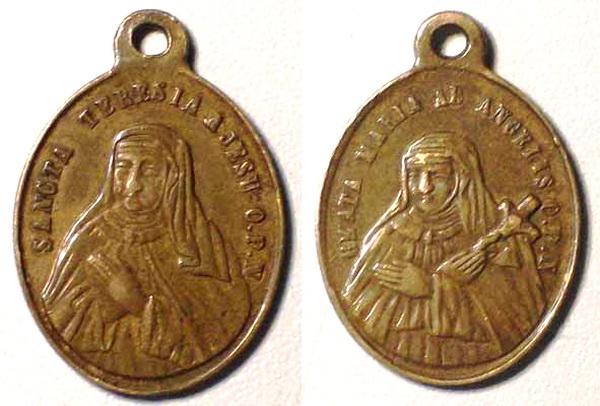 Recopilación medallas Orden Carmelitas Descalzas: Santa Teresa de Jesús 01_agu10
