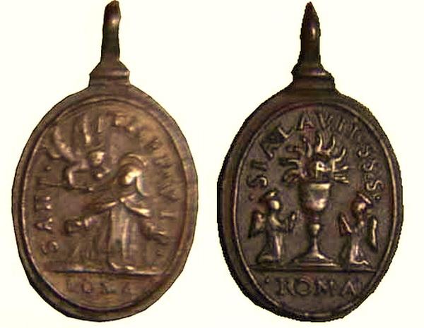 Recopilación medallas Orden Carmelitas Descalzas: Santa Teresa de Jesús 02_arc10
