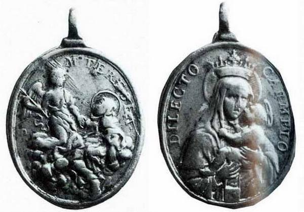 Recopilación medallas Orden Carmelitas Descalzas: Santa Teresa de Jesús 02_gal10