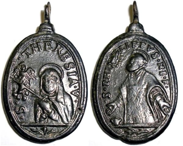 Recopilación medallas Orden Carmelitas Descalzas: Santa Teresa de Jesús 03_ita10