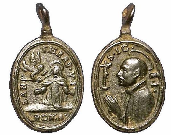 Recopilación medallas Orden Carmelitas Descalzas: Santa Teresa de Jesús 04_fsa10