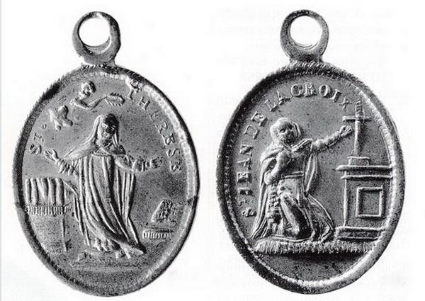 Recopilación medallas Orden Carmelitas Descalzas: Santa Teresa de Jesús 04_gar10